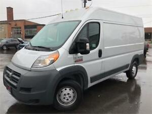 2014 Ram ProMaster Cargo Van **HIGH ROOF**