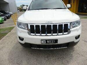 2011 Jeep Grand Cherokee WK MY2012 Overland White Semi Auto Wagon Kippa-ring Redcliffe Area Preview