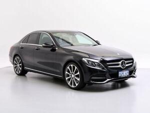 2015 Mercedes-Benz C250 205 Black 7 Speed Automatic Sedan