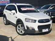 2011 Holden Captiva CG Series II 7 LX (4x4) White 6 Speed Automatic Wagon Werribee Wyndham Area Preview