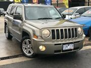 2008 Jeep Patriot MK Limited Gold Continuous Variable Wagon Werribee Wyndham Area Preview