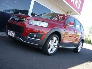 2014 Holden Captiva CG MY14 7 AWD LTZ Red 6 Speed Sports Automatic Wagon Svensson Heights Bundaberg City Preview