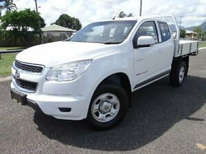 2013 Holden Colorado RG LX (4x4) White 5 Speed Manual Spacecab Bungalow Cairns City Preview