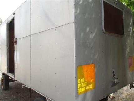 Franklin 18' ex PMG van, Built like a Army Tank,  $2.999 Wollongong 2500 Wollongong Area Preview