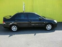 2004 Mitsubishi Lancer CH ES Black 5 Speed Manual Sedan Kippa-ring Redcliffe Area Preview