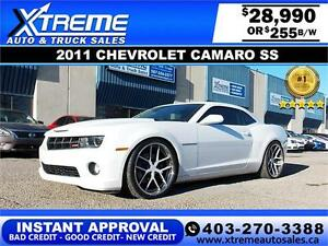 2011 Chevrolet Camaro SS $255 bi-weekly APPLY NOW DRIVE NOW