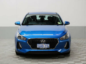 2017 Hyundai i30 PD Active Marina Blue 6 Speed Auto Sequential Hatchback