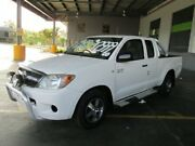 2008 Toyota Hilux GGN15R MY08 SR 4x2 White 5 Speed Automatic Utility Archerfield Brisbane South West Preview