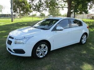 2015 Holden Cruze JH Series II MY15 Equipe White 6 Speed Sports Automatic Hatchback Kempsey Kempsey Area Preview