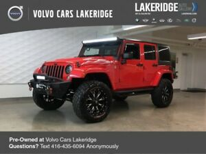 2015 Jeep Wrangler Unlimited Wrangler X 4inch Lift, 35inch Tires