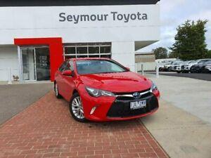 2016 Toyota Camry AVV50R MY16 Atara SL Hybrid Cherry Continuous Variable Sedan Seymour Mitchell Area Preview