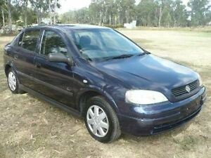 1998 Holden Astra TS CD Blue Manual Sedan Nanango South Burnett Area Preview