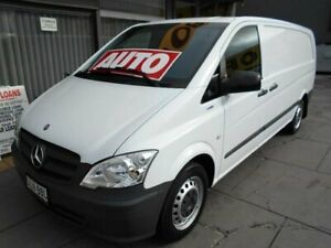 2013 Mercedes-Benz Vito MY13 113CDI LWB White 5 Speed Automatic Van West Hindmarsh Charles Sturt Area Preview