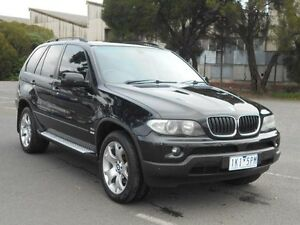 2006 BMW X5 E53 3.0D Black 6 Speed Automatic Wagon Maidstone Maribyrnong Area Preview