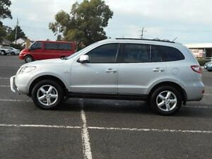 2008 Hyundai Santa Fe CM MY07 Upgrade SX CRDi (4x4) Silver 5 Speed Automatic Wagon Maidstone Maribyrnong Area Preview