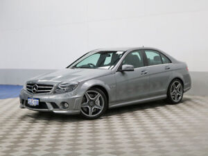 2010 Mercedes-Benz C63 W204 MY10 AMG Grey 7 Speed Automatic G-Tronic Sedan
