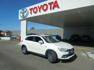 2017 Mitsubishi ASX XC MY18 LS (2WD) White Continuous Variable Wagon Belmore Canterbury Area Preview