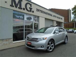2013 Toyota Venza V6 w/Leather/Pano Roof