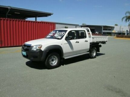 2007 Mazda BT-50 UNY0E3 DX White 5 Speed Manual Utility Coopers Plains Brisbane South West Preview