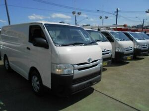2015 Toyota HiAce KDH201R MY15 LWB White 4 Speed Automatic Van Five Dock Canada Bay Area Preview