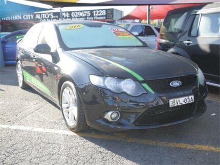 2009 Ford Falcon FG XR6 Black 6 Speed Sports Automatic Sedan Minchinbury Blacktown Area Preview