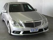 2010 Mercedes-Benz E350 W212 Avantgarde 7G-Tronic Silver 7 Speed Sports Automatic Sedan Midvale Mundaring Area Preview