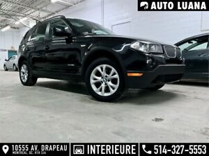 2010 BMW X3 28i 4x4/PANORAMIQUE/CUIRE/MAGS/SENSORS/BLUETOOTH
