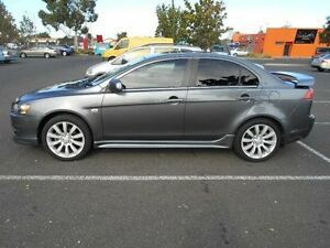 2008 Mitsubishi Lancer CJ VR-X Olympic Edition Grey 6 Speed CVT Auto Sequential Sedan Maidstone Maribyrnong Area Preview
