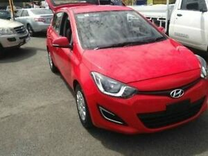 2012 Hyundai i20 Red Automatic Hatchback Woodridge Logan Area Preview
