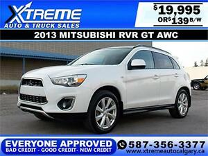 2013 Mitsubishi RVR GT AWC $139 BI-WEEKLY APPLY NOW DRIVE NOW