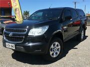 2014 Holden Colorado RG MY14 LX (4x2) Black 6 Speed Automatic Crew Cab Pickup Elizabeth West Playford Area Preview