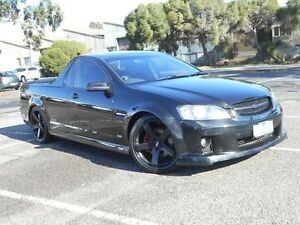 2007 Holden Commodore VE SS Black 6 Speed Manual Utility Maidstone Maribyrnong Area Preview