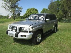 2006 Nissan Patrol GU IV MY05 ST Silver 5 Speed Manual Wagon Coopers Plains Brisbane South West Preview