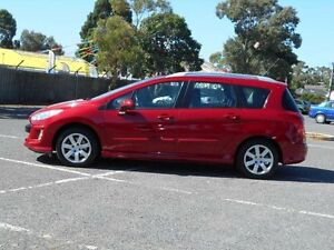 2011 Peugeot 308 Touring XSE Turbo Burgundy 6 Speed Automatic Wagon Maidstone Maribyrnong Area Preview