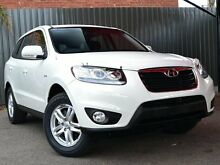 2011 Hyundai Santa Fe CM MY10 SLX White 6 Speed Sports Automatic Wagon Fawkner Moreland Area Preview