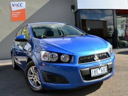 2016 Holden Barina TM MY16 CD Blue 6 Speed Automatic Sedan Fawkner Moreland Area Preview
