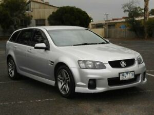 2011 Holden Commodore VE II SV6 Silver 6 Speed Automatic Sportswagon