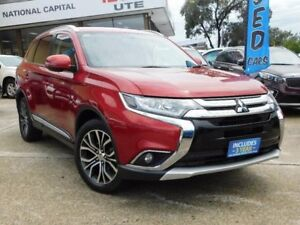 2016 Mitsubishi Outlander ZK MY16 LS (4x4) Red Continuous Variable Wagon