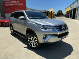 2018 Toyota Fortuner GUN156R MY18 Crusade Silver Sky 6 Speed Automatic Wagon