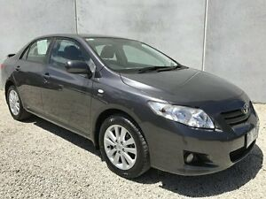 2007 Toyota Corolla ZRE152R Conquest Grey 4 Speed Automatic Hatchback Seaford Frankston Area Preview