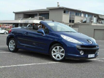 2007 Peugeot 207 CC 1.6 Blue 5 Speed Manual Cabriolet