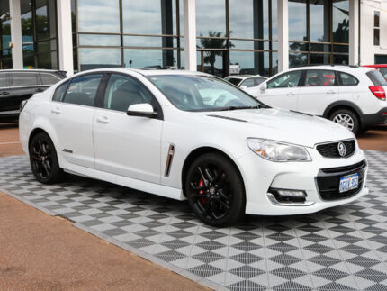 2016 Holden Commodore VF II MY16 SS V Redline White 6 Speed Sports Automatic Sedan Alfred Cove Melville Area Preview