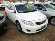 2009 Toyota Corolla ZRE152R Ascent White 4 Speed Automatic Sedan Minchinbury Blacktown Area Preview