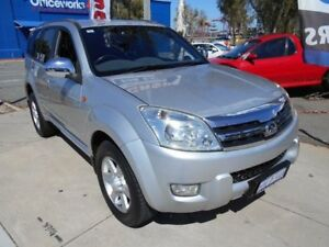 2010 Great Wall X240 CC6461KY (4x4) Silver 5 Speed Manual Wagon Fremantle Fremantle Area Preview