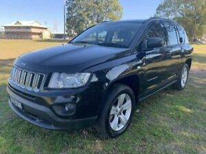 2012 Jeep Compass MK MY12 Sport CVT Auto Stick Black 6 Speed Constant Variable Wagon Kempsey Kempsey Area Preview