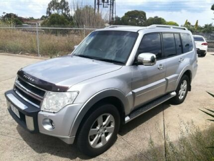 2010 Mitsubishi Pajero Silver Automatic Wagon Werribee Wyndham Area Preview