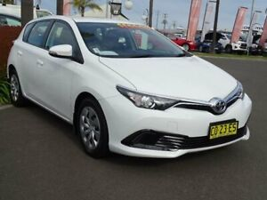 2017 Toyota Corolla ZRE182R MY17 Ascent White 7 Speed CVT Auto Sequential Hatchback South Nowra Nowra-Bomaderry Preview