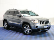 2012 Jeep Grand Cherokee WK MY12 Limited (4x4) Gunmetal 6 Speed Automatic Wagon Morley Bayswater Area Preview