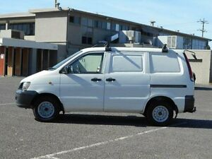 1997 Toyota Townace White 4 Speed Automatic Van Maidstone Maribyrnong Area Preview