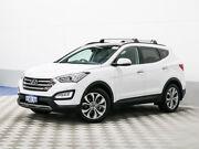 2015 Hyundai Santa Fe DM MY15 Highlander CRDi (4x4) White 6 Speed Automatic Wagon Morley Bayswater Area Preview
